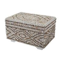 Dimond Home 163-016 Large Shell Box - Natural - n/a