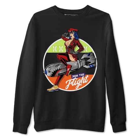 Pin Up Girl Sweatshirt Jordan 5 What The Sneaker Matching Outfits