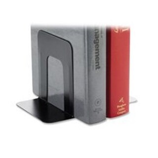 Business Source Bookend Supports- Jumbo- 6-1in.x9-.3in.x8-9in.- Black