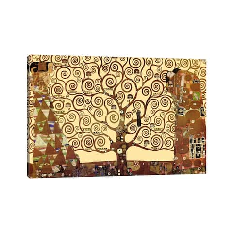 "iCanvas ""The Tree of Life"" by Gustav Klimt Canvas Print"
