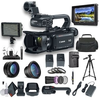 Canon XA11 Compact Full HD Camcorder with HDMI and Composite Output Professional Bundle