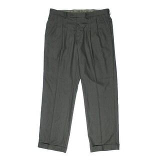 Lauren Ralph Lauren Mens Pattern Double Pleat Dress Pants - 36/34