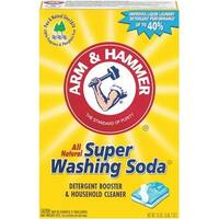 Church & Dwight Co A&H Super Washing Soda 03020 Unit: EACH