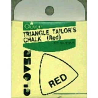 Triangle Tailor's Chalk-Red - Red