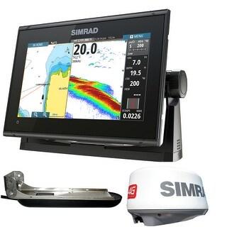 Simrad GO9 XSE 4G Radar Bundle GO9 XSE 9 inch Plotter w/ TotalScan Xducer
