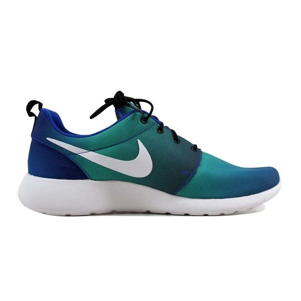 100% authentic 3661b 28256 Shop Nike Men's Roshe One Print Game Royal/White-Light Retro ...
