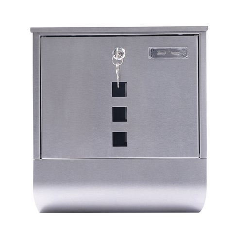 Gymax Wall Mount Mail Box Steel