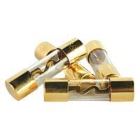Db Link Agu50 Gold Agu Fuses, 4 Pk (50 Amps)