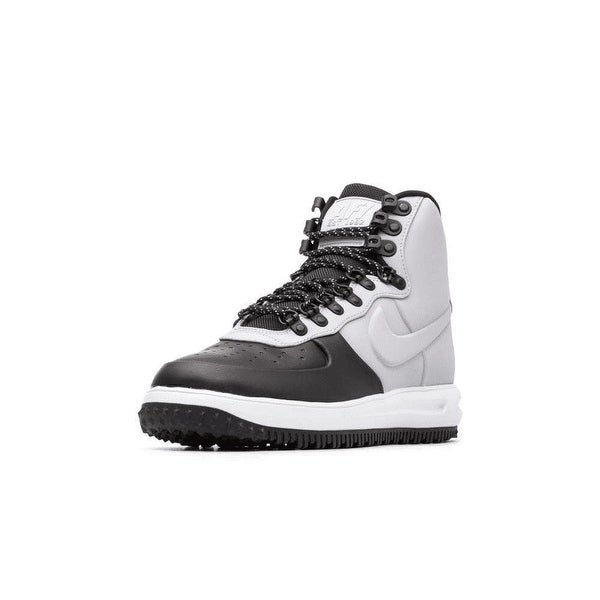 Shop Nike Lunar Force 1 Duckboot 18 BlackWolf Grey (BQ7930