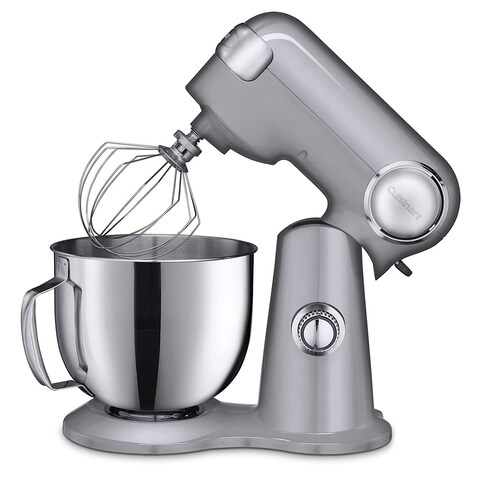 Cuisinart SM-50BC Precision Master 5.5-Quart Stand Mixer, Brushed ChromE