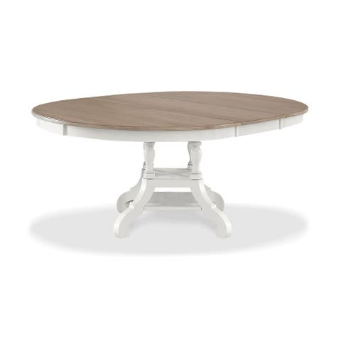 Rockport Driftwood Round Dining Table