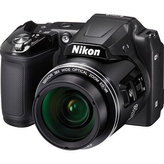 Nikon COOLPIX L840 Digital Camera (Black) (Refurbished)