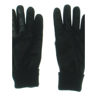 Isotoner Mens Signature Gloves Knit Cuff Casual - L