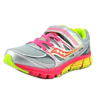 Saucony Zealot AC Youth W Round Toe Synthetic Silver Running Shoe