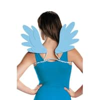 Disguise Rainbow Dash Adult Wings - Blue
