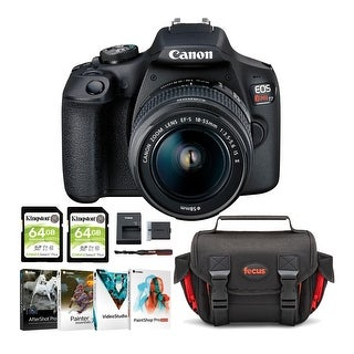 Link to Canon USA EOS Rebel T7 with EF-S 18-55mm Lens Kit & 128GB Card Bundle Similar Items in Digital Cameras