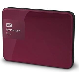 Refurbished - WD My Passport Ultra 2TB Berry Portable External HardDrive USB 3.0 WDBBKD0020BBY
