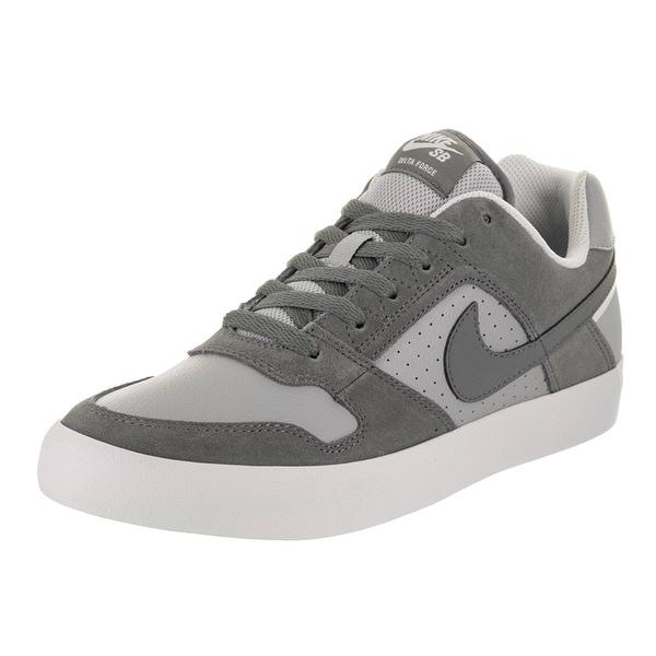 09a13fc5ef5008 Shop Nike Men s SB Delta Force Vulc Cool Grey Cool Grey Wolf Grey ...