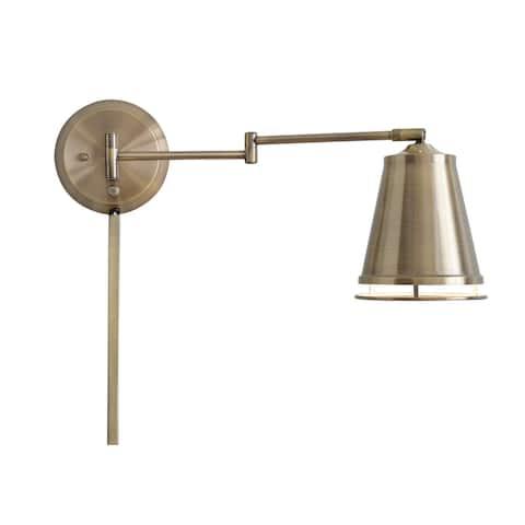 """Ida Wall Swing Arm Lamp - 13"""" x 10"""""""