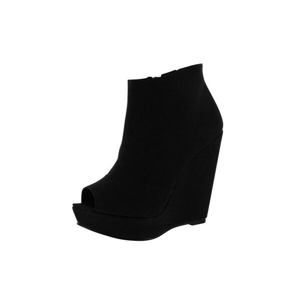 Chinese Laundry Womens Mix Tape Boots - Black - 7.5 b(m) us