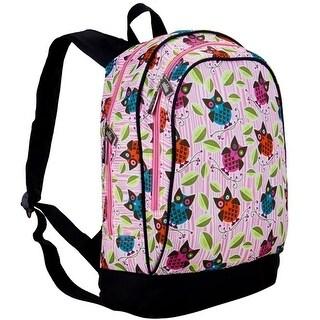Wildkin Girls Pink Multi Color Owl Pattern Adjustable Strap Backpack