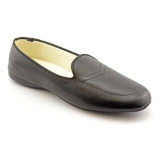 Daniel Green Meg Women W Round Toe Leather Black Loafer