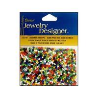 Darice JD Seed Bead 10/0 Opaque Multi