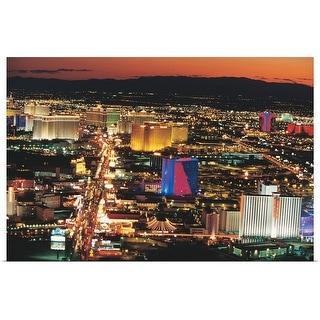 """Las Vegas, Nevada"" Poster Print"