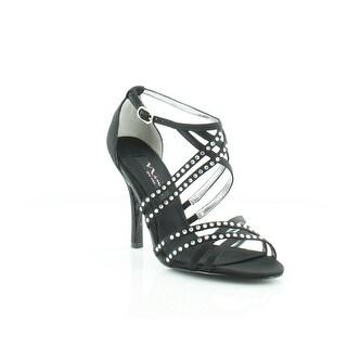 Nina Crysten Women's Heels Black Luster