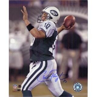 Signed Pennington Chad New York Jets 8x10 Photo autographed