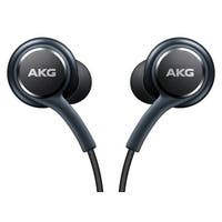 Samsung Earphones by AKG for Galaxy S8 & S8 Plus with Extra Ear Gels - Retail Packaging - 6 x 1 x 3