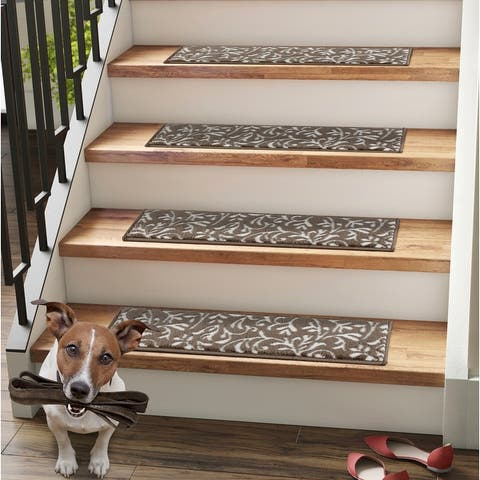 Primrose Non-slip Stair Treads Set of 13 with double sided tape