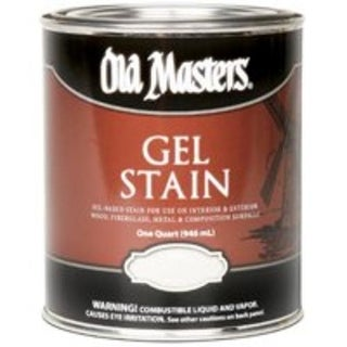 Old Masters 81604 Oil-Based Gel Stain, 1 Qt, Natural Walnut