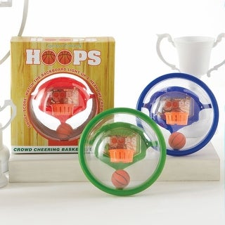 Hand-Held Hoops - Rocking Light-up Basketball Game - red, green, or blue