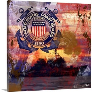 """USCG"" Canvas Wall Art"