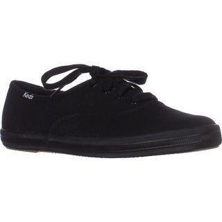 Keds Champion Oxford Lace-Up Sneakers, Black