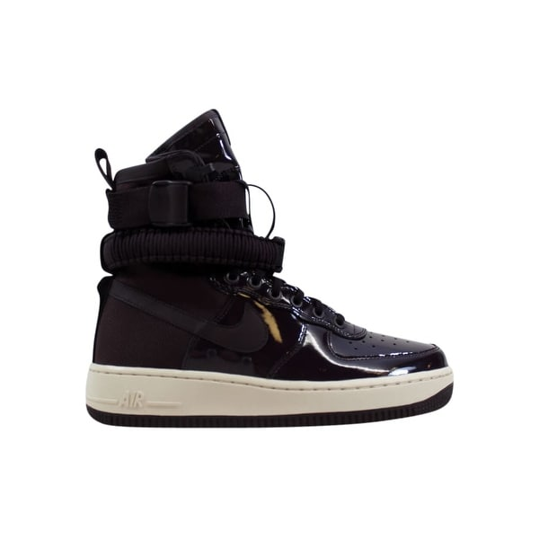 new arrivals 2b0f4 5b04d Shop Nike Women's SF AF1 Air Force 1 SE Premium Port Wine ...