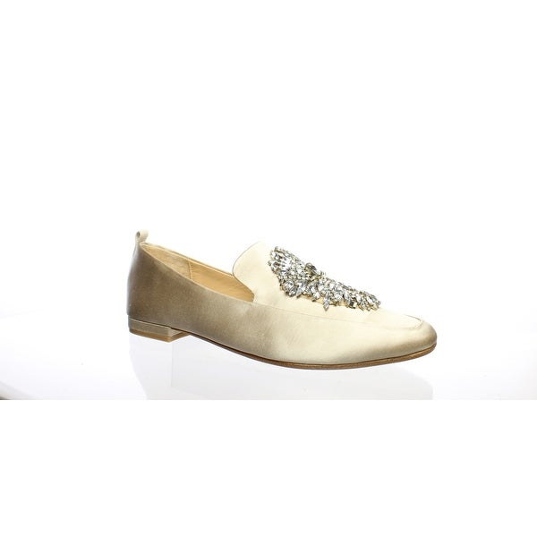 Badgley Mischka Womens Salma Nude Ballet Flats Size 7.5
