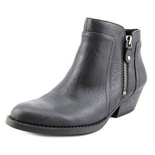 Nine West Shyenneo Round Toe Leather Ankle Boot