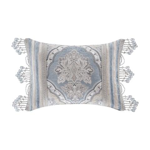 Five Queens Court Pasadena Boudoir Decorative Throw Pillow
