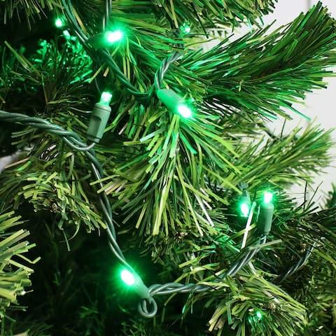 Sunnydaze 5mm Wide Angle LED Lights - 70Ct - 22-Ft - Seasonal Décor - 22-Feet