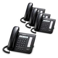Panasonic KX-DT521-B (4 Pack) 8 Button 1-line Digital Telephone