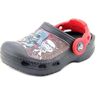 Crocs CC StarWars Darth Vader Clog Round Toe Synthetic Clogs