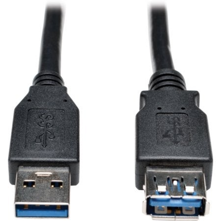 Tripp Lite - 6Ft Usb 3.0 Superspeed Extension Cable Aa M/F Black 6Ft
