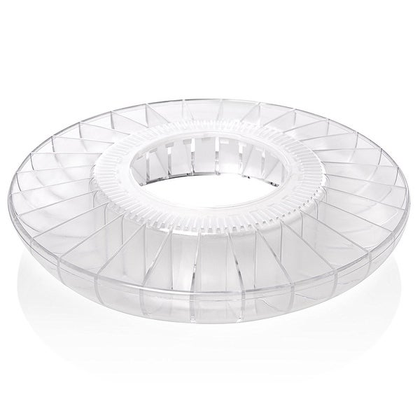 Ivation Pill Dispenser Tray Clear