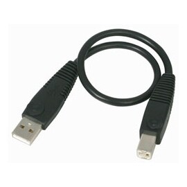 StarTech Cable USB2HAB1 1 feet USB 2.0 Certified A to B Cable M/M Retail