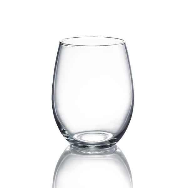 Luminarc 15 Ounce Cachet Stemless Wine Glass Set Of 4 On Sale Overstock 22277052