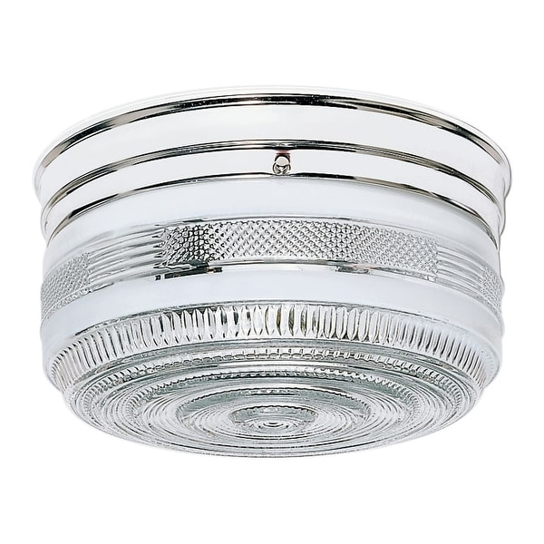"Nuvo Lighting 77/102 2 Light 10"" Wide Flush Mount Ceiling Fixture"
