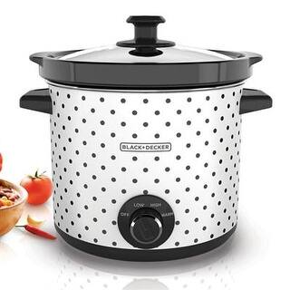 Applica - Sc1004d - Bd 4Qt Slow Cooker Blk Polka https://ak1.ostkcdn.com/images/products/is/images/direct/3c6bfe15d6a61b99a5a0ae07960b6de6a559f682/Applica---Sc1004d---Bd-4Qt-Slow-Cooker-Blk-Polka.jpg?impolicy=medium