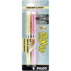 Yellow & Pink - Pilot Frixion Light Pastel Erasable Highlighters 3/Pkg